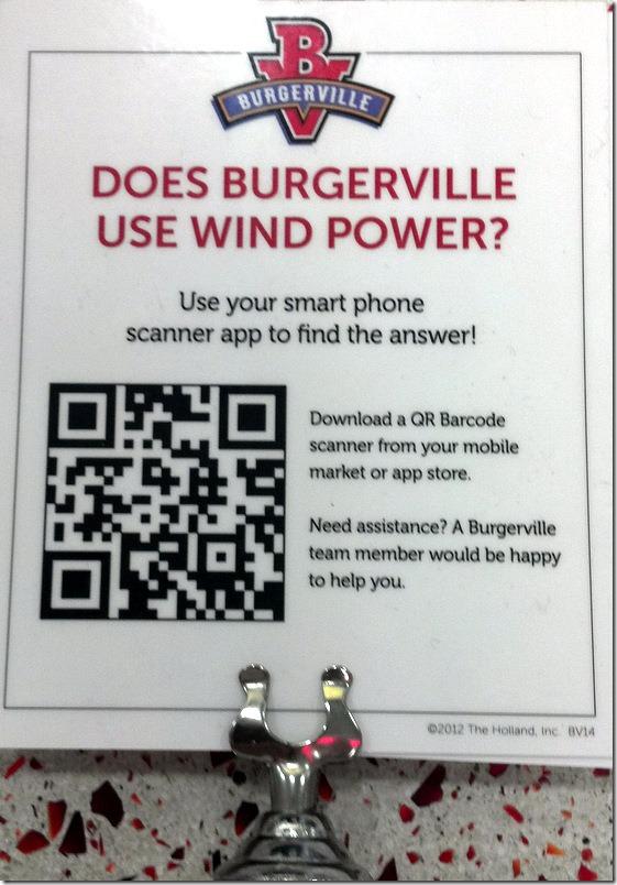 Burgerville Quiz